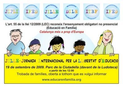 Convocatoria Jornada Internacional por la Libre Educación 2009