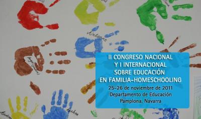 II Congreso Nacional y I Congreso Internacional sobre Educación en Familia-Homeschooling: Innovación educativa y escuela flexible (flexischool)